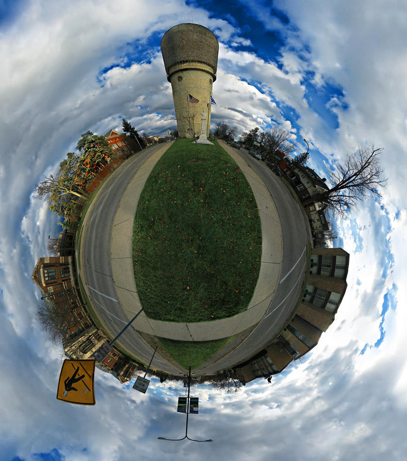 Mini Planet - Ypsilanti by electricjonny