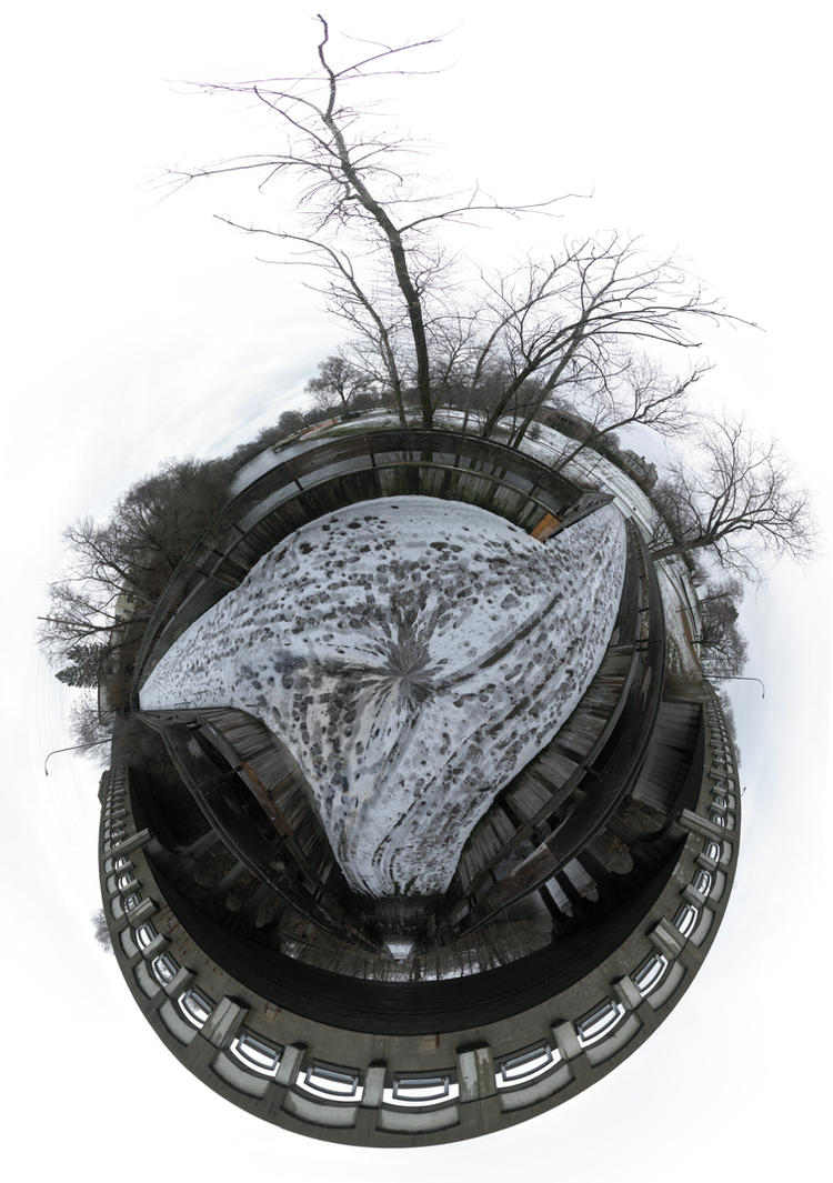 Mini Planet - Frog Island Park by electricjonny