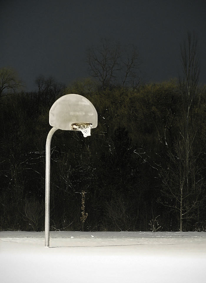 Solitary Basketball Hoop by electricjonny