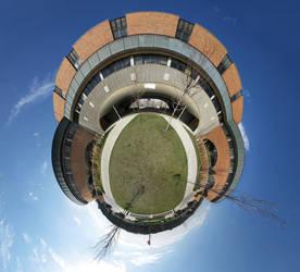 Mini Planet-Huron High School by electricjonny