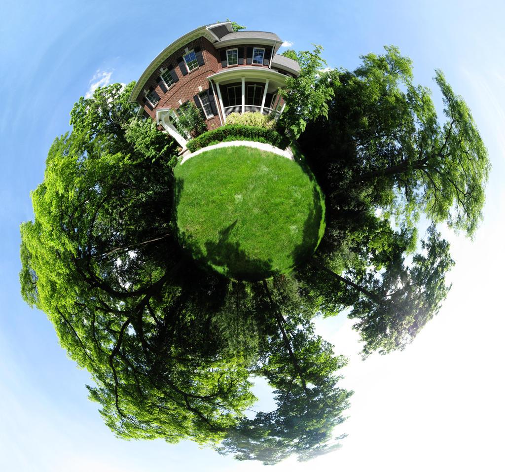 Mini Planet House By Electricjonny On Deviantart