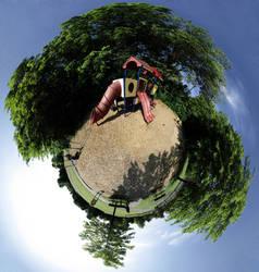 Mini Planet - Playground by electricjonny
