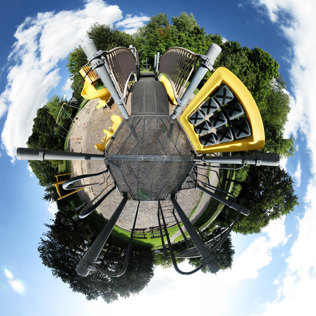 Mini Planet - The Playground by electricjonny