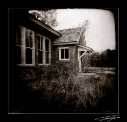 Holga House 2 by electricjonny
