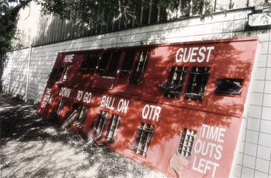 old scoreboard by electricjonny