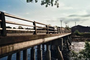 bridge over river by electricjonny