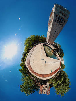 Clock Tower Planet