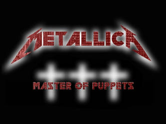 Metallica Master of Puppets by superb4ll