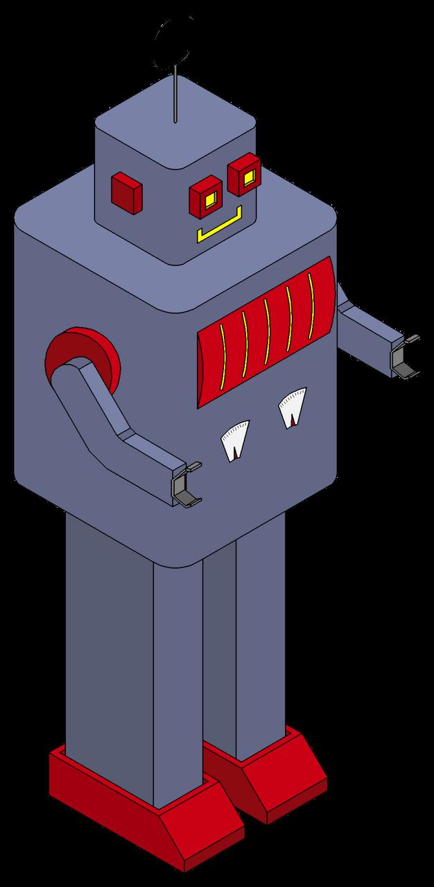 Clockwork Toy Robot by Leonartisan on DeviantArt