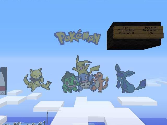 Minecraft Pixel Art Pokemon By Rorro711 On Deviantart
