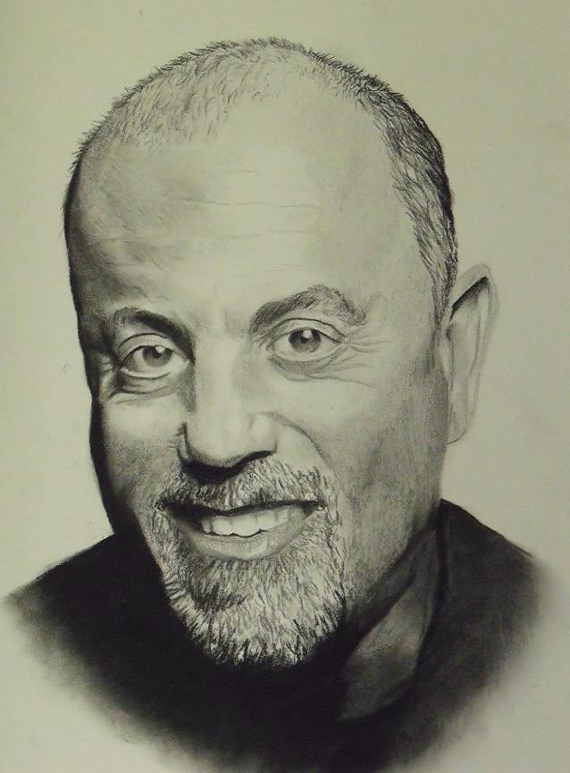 Billy Joel by foltzart