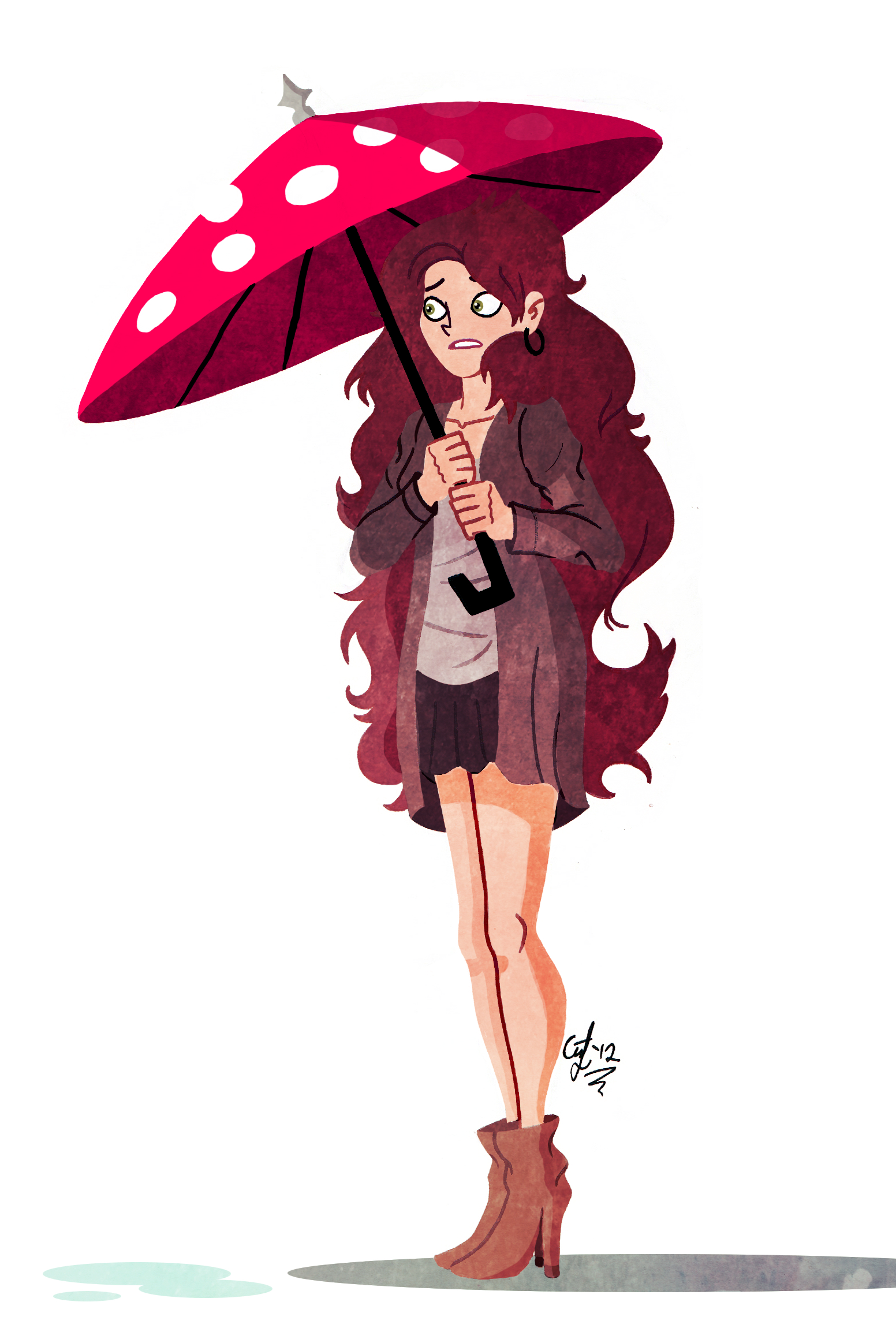 Umbrella by GusDraws