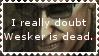 Wesker stamp by smilelikeacid
