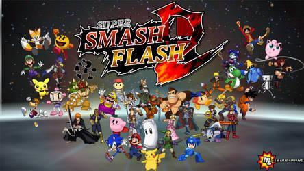 Super Smash Flash 2 - Wallpaper
