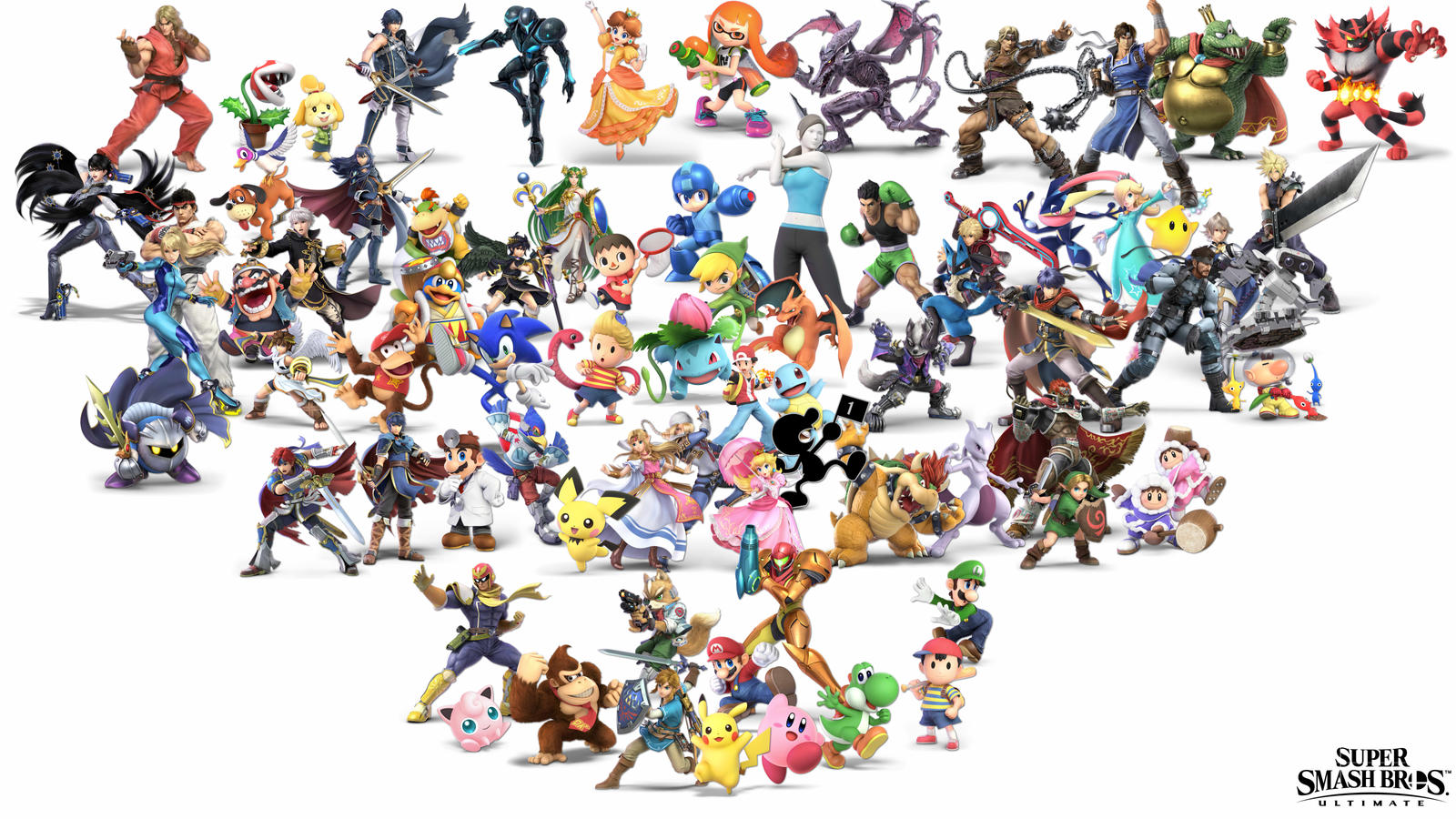 Super Smash Bros Ultimate Wallpaper Wip By 64smashmaster3ds