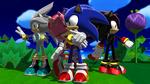 Sonic - The Three Hedgehogs Plus One
