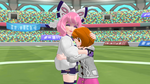 Pokemon Sword and Shield - Kurara and Yuuri Hug by 64smashmaster3ds
