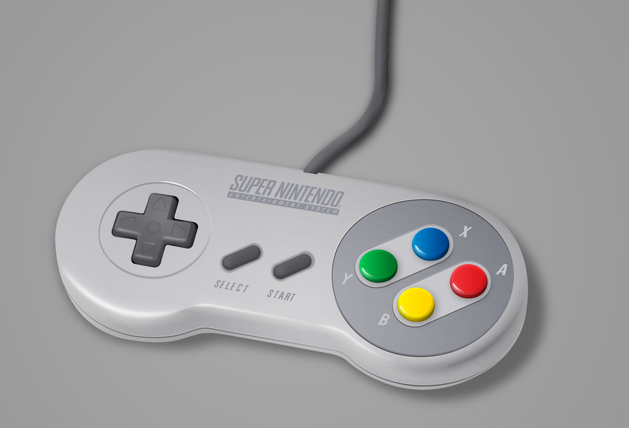 SNES Controller Vector by SirMaximillion on DeviantArt