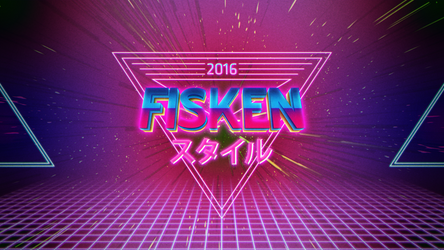 Fiskenstil in Neon80ies