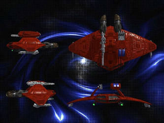Attack Bomber - Schematic view by Black-Knyght