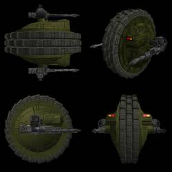 ''Velka'' Light Attack Wheel by Black-Knyght
