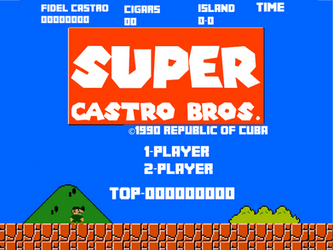 Super Castro Bros. by dalegribble3000