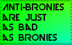 Anti-bronies and bronies are equally horrible by dalegribble3000