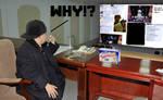 Kim Jong-Un's reaction to Jin by dalegribble3000