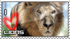 Love Lions Stamp by HavickArt