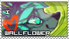 Stamp Commission wallFlower by HavickTheLion