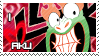 I Love Aku stamp comission by HavickTheLion