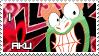 I Love Aku stamp comission by HavickArt