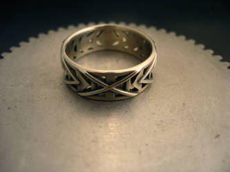 mens wedding ring by bmf7