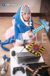 HololiveEN gawrgura cosplay