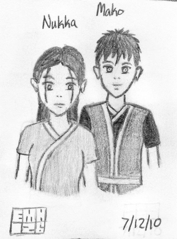 Mako and Nukka: Zutara Spawn