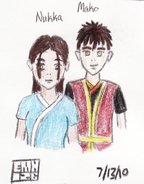 Mako and Nukka - colored
