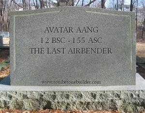 LoK: Aang's Tombstone