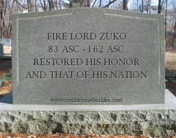 LoK: Zuko's Tombstone
