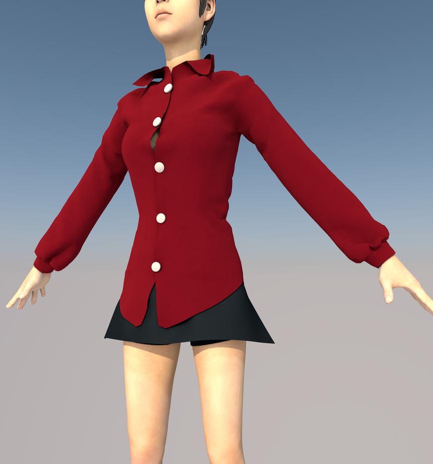 blusa + short-falda by truepardox