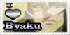Commission: I Love Byaku by Kabehchet