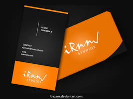 My business card 1 by R-azzor