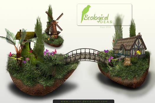 Ecological ideas wall