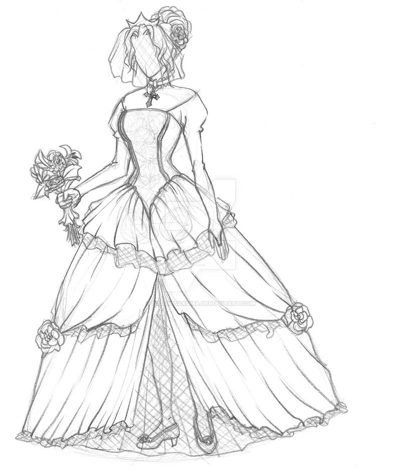 Wedding Dress by SuzumiSakuma