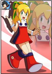 Comm: Roll megaman 8 by Patdarux