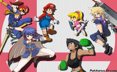 Super smash bros genderswap by Patdarux