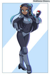 Commission: Armored Nessa by Patdarux