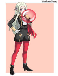 Commission: Edelgard blowing a balloon