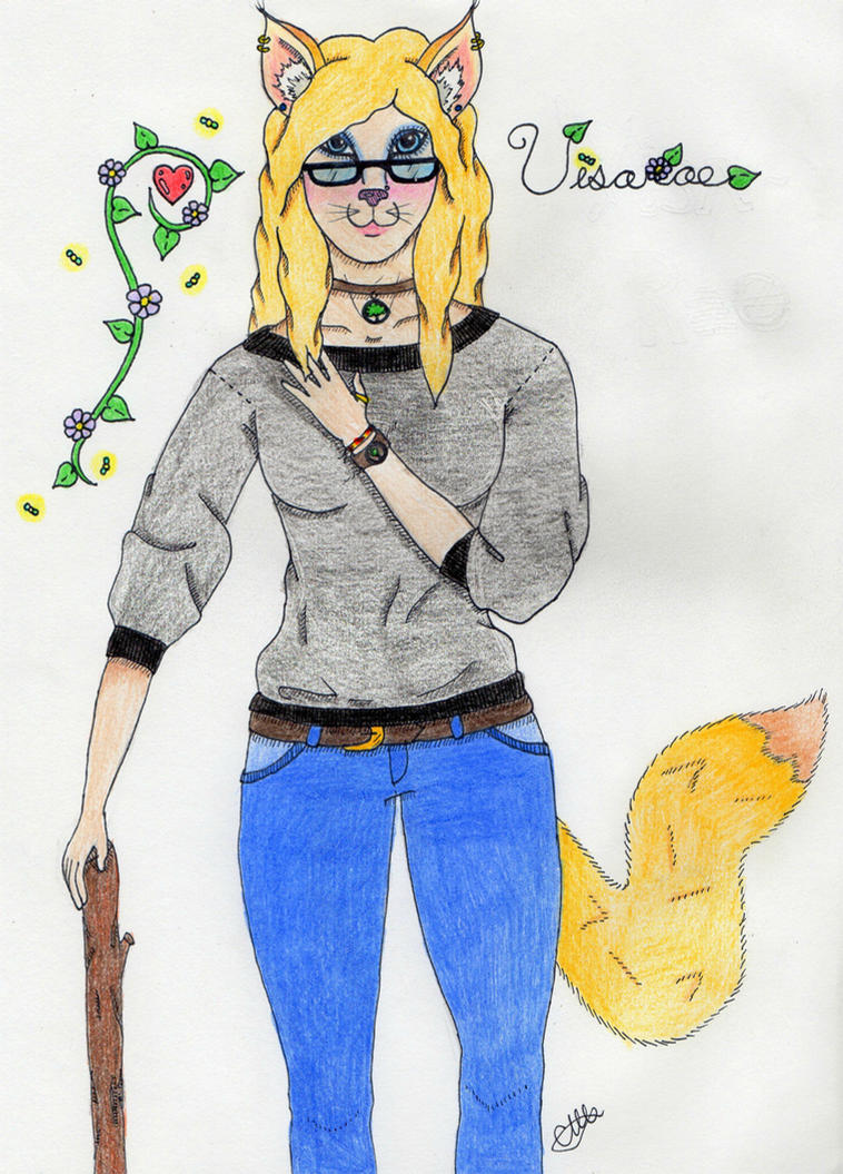 Furry: Visarae by Christawashere