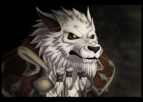 Genn Greymane - World of Warcraft by Smilydon