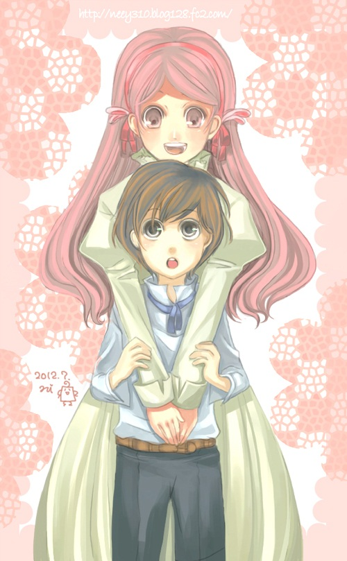 Anime older sister and younger sister
